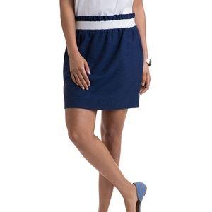 NEW Vineyard Vines stripe pull on Mini skirt MK